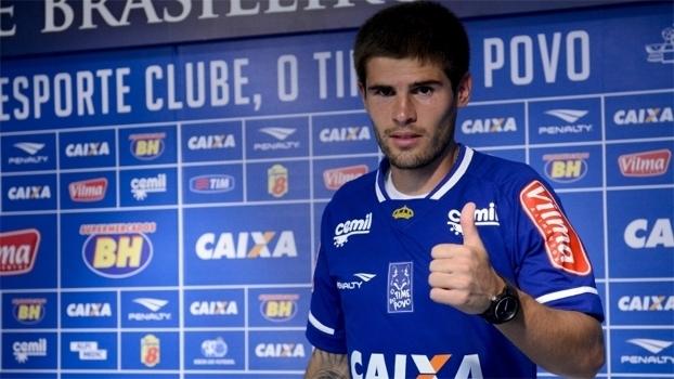 O volante Federico Gino teve passagem pelo Cruzeiro