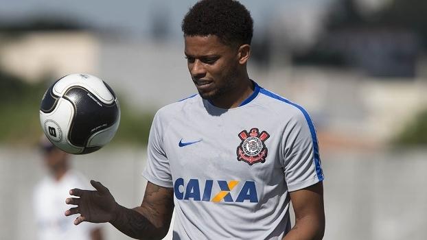 André, em treino do Corinthians, na última terça-feira