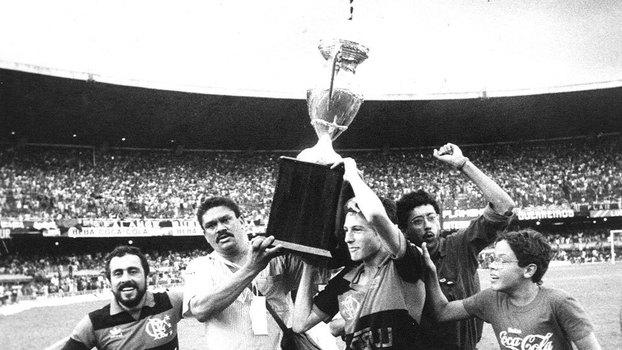 Flamengo ganhou a Copa União, torneio organizado pelo C13 em 1987