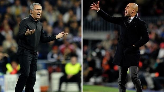 Mourinho e Guardiola voltarão a ser adversários nesta temporada