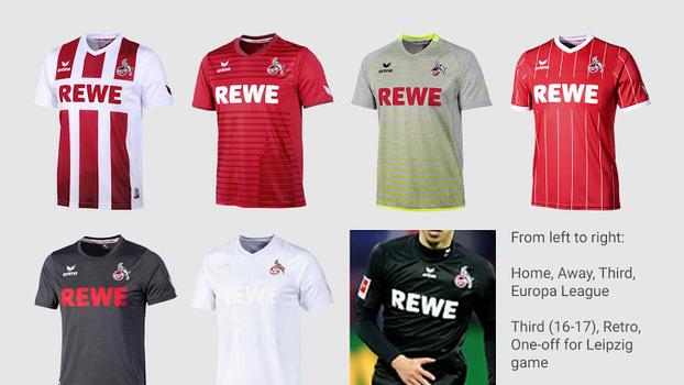 Por que time alemão já jogou com sete camisas diferentes na ... 4cde5aae3d037