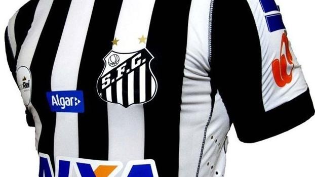 Santos lança segundo uniforme e fará estreia em clássico  7e48b2614bcf2