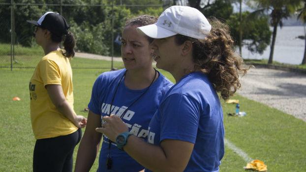Seleção brasileira feminina de Flag Football entra na reta final de ... e009b7ea827e9