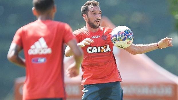 Mancuello Treino Flamengo 13/04/2016
