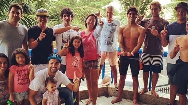 'Time Medina' é responsável por deixar o surfista focado apenas dentro do mar