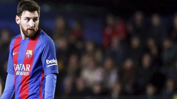 Messi Barcelona Villarreal Campeonato Espanhol 08/01/2017