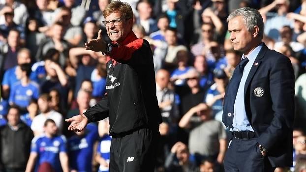 Jurgen Klopp Liverpool Jose Mourinho Chelsea Campeonato Ingles 31/10/2015