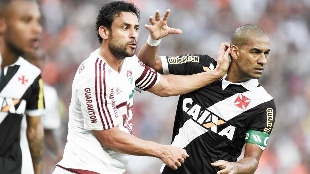 Fred Fluminense Rodrigo Vasco Campeonato Carioca 19/07/2015