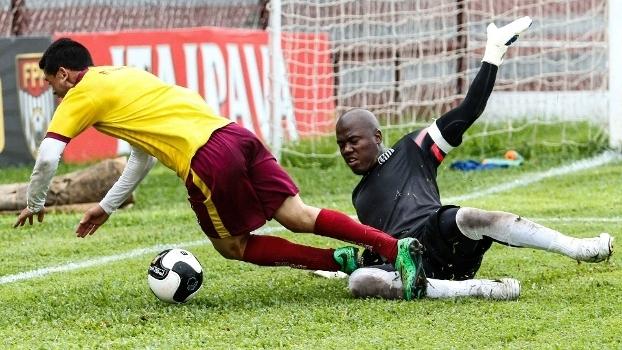 Preto fez apenas amistosos com a camisa do Santos