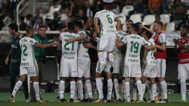 Palmeiras fecha 1º turno com um ponto a menos de sua campanha vitoriosa em 2016