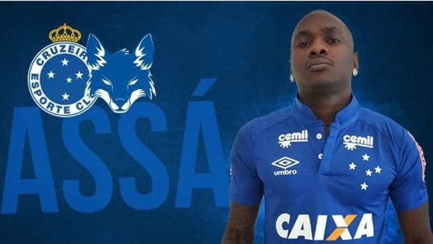 Apresentado no Cruzeiro, Sassá se diz feliz com