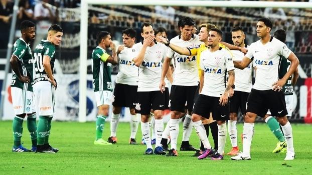 37052194c5 Gabriel Expulso Corinthians Palmeiras Campeonato Paulista 22 02 2017