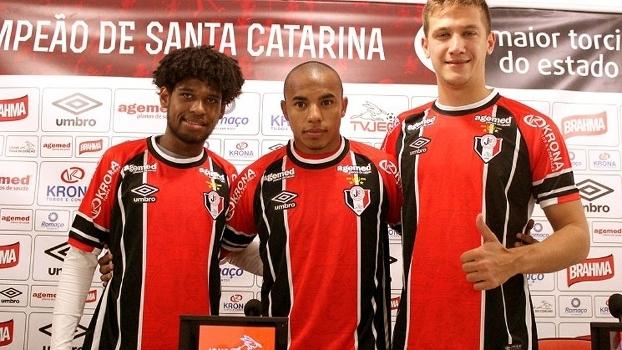 Trio estava em times da Série A do Brasileirão