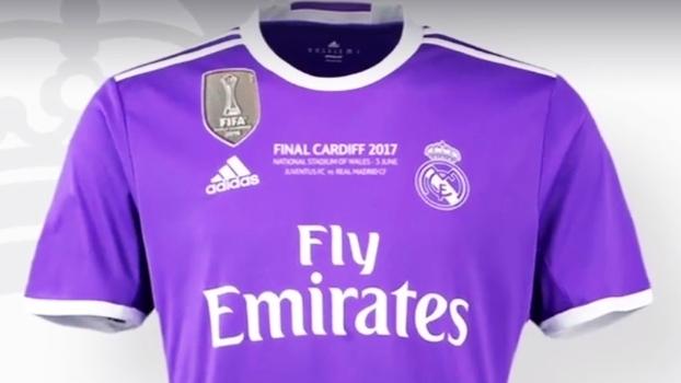 Jornal  Real Madrid jogará de violeta na final da Champions  veja ... cb9762aca7270