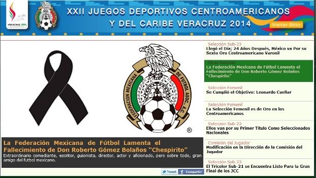 Uma singela homenagem ao mexicano que encantou o Brasil e era apaixonado  por futebol 2ebd8d46bc4a8