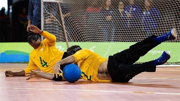 Goalball é uma modalidade desenvolvida para pessoas com deficiência visual