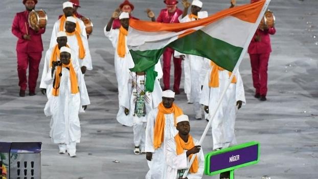 Alfaga foi porta-bandeira de Níger na Rio 2016
