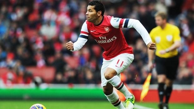 Andre Santos Arsenal QPR Premier League 27/10/2012