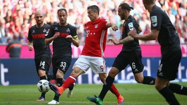 Lewandowski não conseguiu marcar em seu jogo 200 na Bundesliga