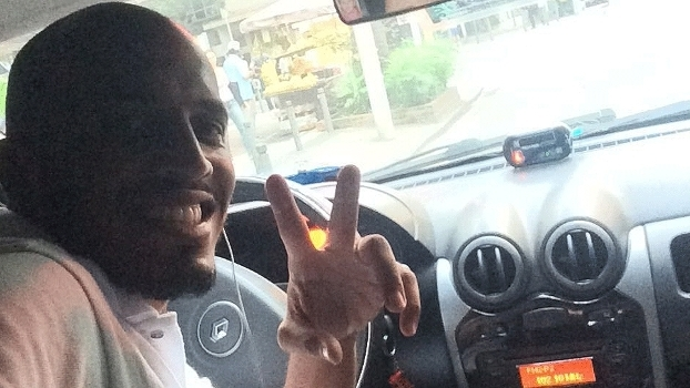 Revelado na base do Flamengo, Érick Foca é taxista nas horas vagas no RJ