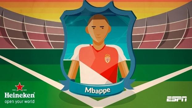 Cara do jogo - Mbappe