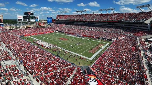 Raymond James Stadium, sede do Super Bowl programado para 7 de fevereiro