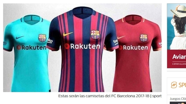 d4e8d44e13 Mudança nas faixas, novo patrocínio e 3ª camisa 'à la Roma': veja os ...