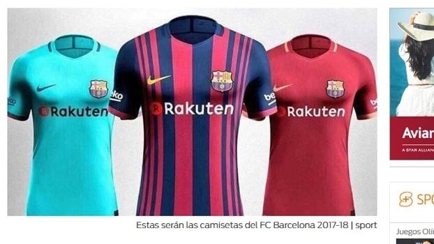 Barcelona Novas Camisas Adidas 19 05 2017 0480ad057aa11