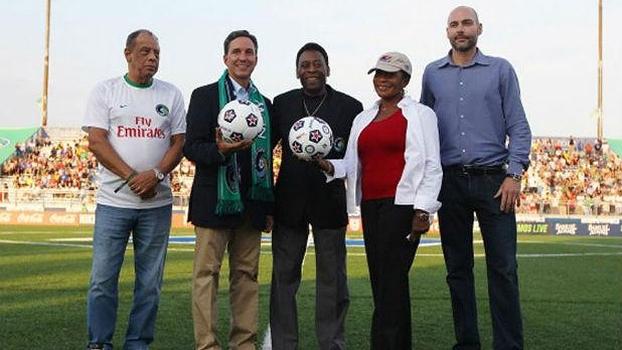 New York Cosmos voltou a jogar uma partida oficial