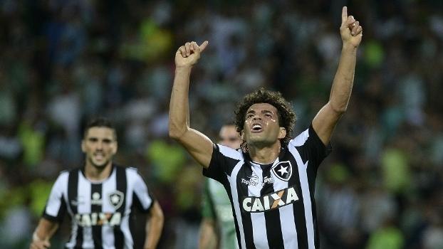Camilo marcou gol para o Botafogo contra o Nacional