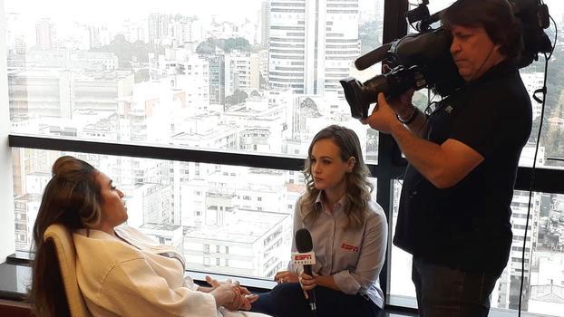 6ea765abd4 A atacante Marta recebeu a equipe da ESPN Brasil para conversa exclusiva.