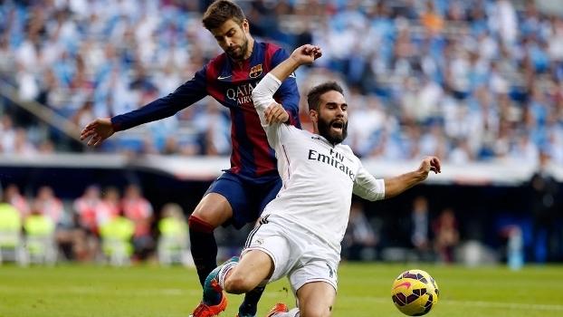 Piqué e Carvajal saíram e retornaram a Barcelona e Real Madrid c5f93b0fc67a8