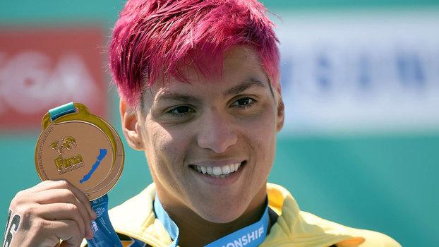 Ana Marcela Cunha conquista mais uma medalha de bronze