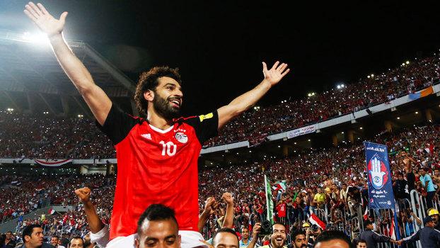 Egito, de Salah, é uma das seleções que não esteve no Brasil mas estará na Rússia
