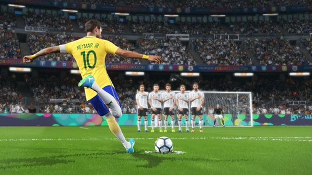 863aa5fab1 Neymar é um dos melhores cobradores de Pro Evolution Soccer 2018.