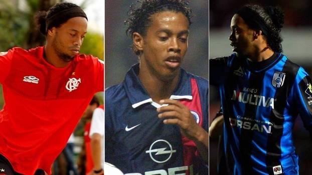 Ronaldinho só cumpriu contrato até o fim com 2 dos 8 clubes que ... 4ff201caf5d7e