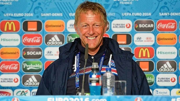Heimir Hallgrimsson Coletiva Islandia Euro-2016 21/06/2016