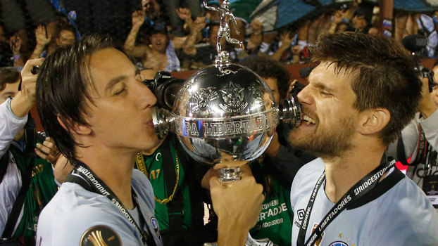 Grêmio, campeão da Libertadores sem gastar quase nada