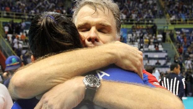Bernardinho, técnico do Rio de Janeiro