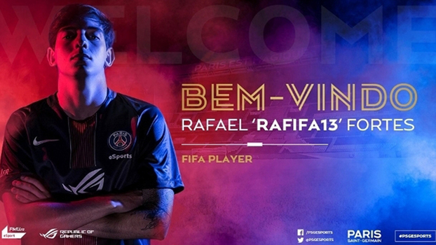 Rafifa13, jogador da equipe de eSports do PSG, acredita que 2017 mostrou o valor dos brasileiros.