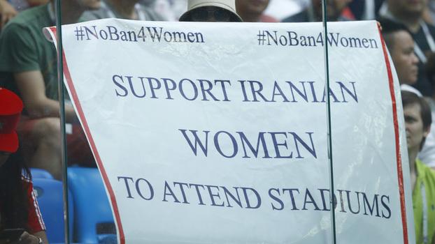 76a04e2de3 Torcida iraniana se movimentou a favor da presença das mulheres no estádio  de futebol