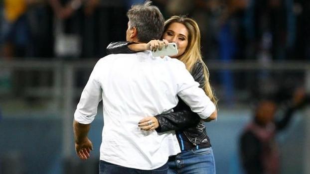Grêmio, Renato, Carol Portaluppi, Copa do Brasil, 2016