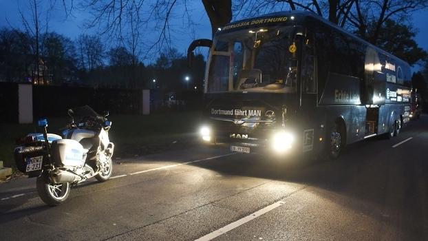 Três explosões ocorreram perto do ônibus do Borussia Dortmund