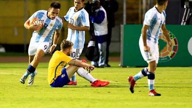 Seleção sub-20 cede empate à Argentina nos acréscimos