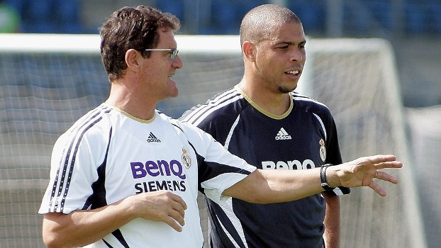 Capello trablahou com Ronaldo no Real Madrid