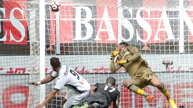 O Milan foi derrotado em casa pelo Empoli, por 2 a 1