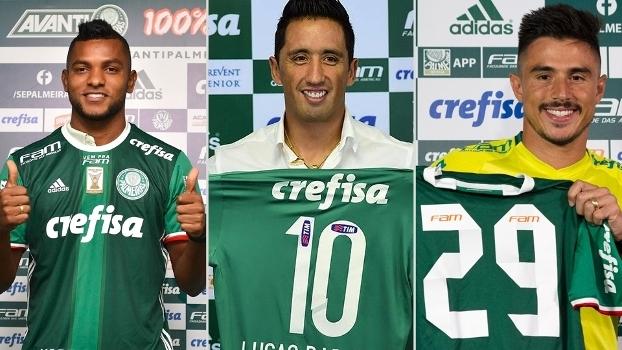 dcdd26323b Borja e William são dois dos principais atacantes do Palmeiras na temporada