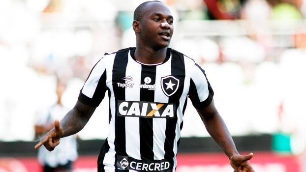 Sassá Comemora Gol Botafogo Fluminense Campeonato Carioca 09/04/2017