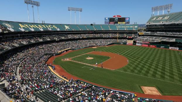 O.co Coliseum, único estádio dos EUA a abrigar time da MLB e NFL