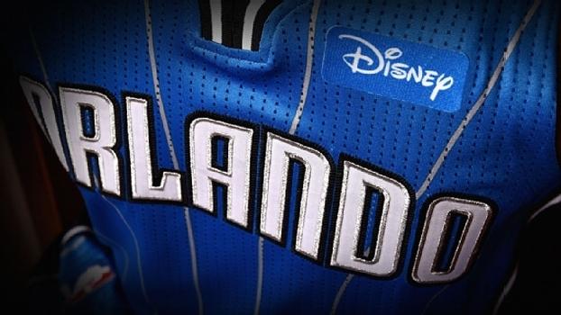 Camisa do Orlando Magic terá patch da Disney 350cd71495c6d